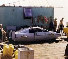 James Bond Cars, James Bond Movies, Lotus Esprit, Car Gadgets, Power Boats, Submarines, Cool Cars, Behind The Scenes, Cool Stuff