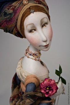 Art doll / Авторская кукла 'Розовое масло' в интернет-магазине на Ярмарке Мастеров.