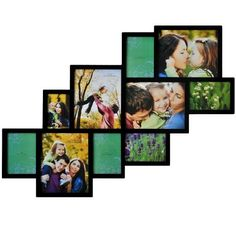 ADECO PF0018 10-Opening Black Wooden Wall Hanging Collage Photo Picture Frames - Holds 4x6 5x7 8x10 Inch Photos,Modern Style For Home Decor Wall Art,Best Gift by ADECO, http://www.amazon.com/dp/B009EXJ83O/ref=cm_sw_r_pi_dp_y8rprb0TQ6VJT