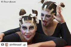 Modelos @cecii_makeup @olaiavmmv Fotografía: #DavidGarrido en @ces_escuela  Fórmate con nosotros mira todos nuestros cursos de #maquillaje #moda #ImagenPersonal #caracterización #AsesordeImagen  en nuestra web tienes toda la información