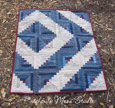 photos of log cabin quilts | Log Cabin Quilt...Finally Finished!