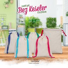 Farklı Renkte İpler İle Özelleştirilmiş Bez Keseler Stoklarımızda 😊   - - - - #bezkese #lavantakesesi #nişankesesi #dugunkesesi #gelinkesesi