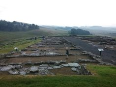 Housesteads - Barracks @ Hadrians Wall