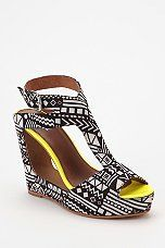 Urban Outfitters - Matiko Victoria Ankle-Wrap Platform Wedge Sandal