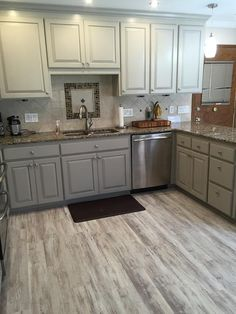 Karen In NC Picked Grizzly Bay Oak   A Waterproof LVP For A Kitchen Upgrade!