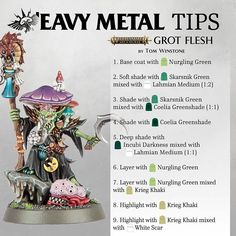 """ith """"How to Paint Flesh"""" being a popular request here we asked Si Adams from 'Eavy Metal to give us the secrets behind painting a face Warhammer Age Of Sigmar, Warhammer Paint, Warhammer Models, Warhammer Fantasy, Warhammer 40000, Warhammer Aos, Painting Recipe, Painting Tips, Figure Painting"""