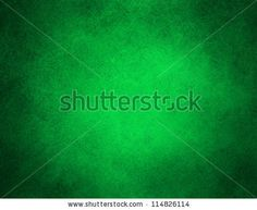 abstract green background or Christmas background with bright center spotlight and black vignette border frame with vintage grunge background texture green paper layout design colorful graphic art - stock photo