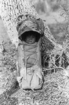 Apache baby (photo by Edward Curtis), 1903