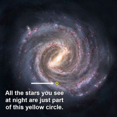 If this doesn't blow your mind, nothing will, and this is just ONE of trillions upon trillions of galaxies!!!