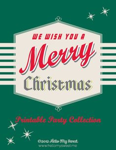 Click to download the Merry Christmas printable PDF. 17 pages