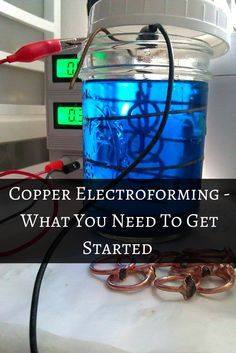 Copper Electroforming - What You Need To Get Started — Pineal Vision Jewelry