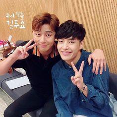 Park Seo Joon and Kang Haneul ♡♡ Running Man 2017, Korean Celebrities, Korean Actors, Kang Haneul, Park Seo Joon, School 2013, Kdrama Actors, Best Actor, Pretty Boys