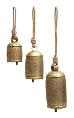 3 Piece Rope Bell Set