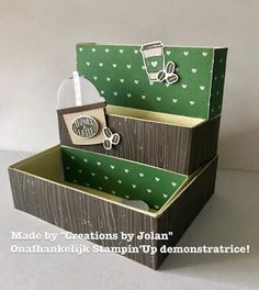 Stampin'Up demonstrator Creations by Jolan: Coffee Cafe workshop bij Creations by Jolan