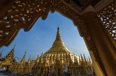 Shwedagon Pagoda, in Yangon, Myanmar. Photo: Getty Images