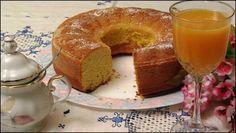 Bizcocho de naranja sin azúcar, apto para diabéticos