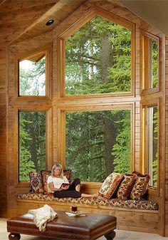 Interior photographer Scott Van Dyke-interior photograph of woman reading a book..photo sharing