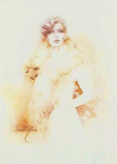 Коллекция картинок: Прекрасные женские образы. Художник Sara Moon