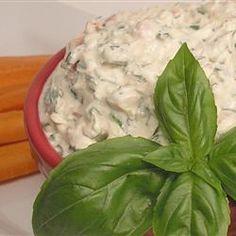 Summer Fresh Tomato Basil Dip Allrecipes.com