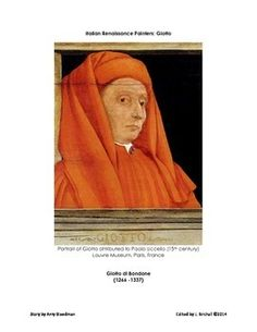 FREE: The Italian Renaissance Painter Giotto is featured in this four page story edited for the classroom.
