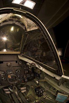 Supermarine Spitfire Mk.XVI Cockpit - WWII Gallery