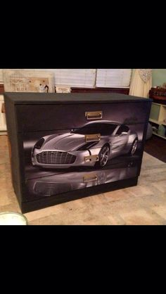 Super car chest of drawers
