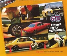 Go on then, open it up for excitement! Nice pic of the late great Brockie. Holden Monaro, To Go, Advertising, Nice, Vehicles, Car, Projects, Automobile, Log Projects