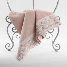 Charming face #towel in #pink color! www.inart.com