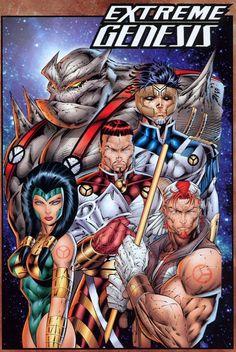 Past Work - Rob Liefeld Creations Comic Book Artists, Comic Artist, Comic Books Art, Image Comics Characters, Superhero Characters, Marvel E Dc, Marvel Comics, Macross Anime, Cyberpunk