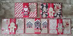 Stampin' Up! Demonstrator stampwithpeg – Cookie Cutter Christmas Craft Fair makes : Gift Card…