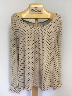 brand new: polka-dot tunic (XL)