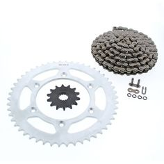 NEW Primary Drive Steel Kit /& O-Ring Chain Fits KTM 400 EXC 4 Stroke 2001–2007