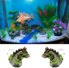 ◆sicher und ungiftig:Kunsthandwerk aus Kunstharz im Aquarium, das dem Aquarium eine natürliche Atmosphäre verleiht, so dass die Fische sich frei bewegen können ◆Größe: 14,5 * 5,5 * 6CM;Schaffen Sie eine natürliche und natürliche Lebensumgebung für Fische. Geeignet für Meerwasser, Süßwasser usw. ◆Einzigartiges Design, lebendige Farben, realistisches Bild. Geeignet für die Landschaftsgestaltung im Aquarium. Design, Vivid Colors, Plastic Resin, Country Landscaping, Environment, Arts And Crafts, Pisces