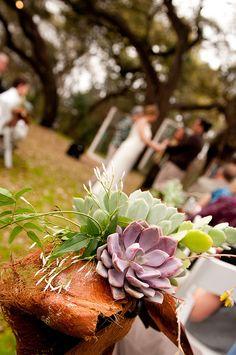laura + jaime eco-chic wedding by www.thesimplifiers.com - photo credit: Svetlana Photography (venue = mercury hall)