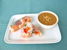 Jenny Steffens Hobick: Peanut Dipping Sauce Recipe | Recipes | Spring Rolls with Peanut Sauce | Simple Thai Recipe