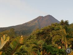 Volcan Arenal on a Clear Day