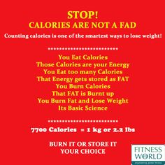 #Calories are those Tiny worms that get into your closet in the nights and make your clothes 1 size bigger! #Fitness #Health