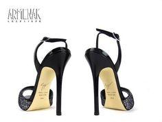 Collection Giuseppe Zanotti: Za Sandale Glitter T11 en cuir imprimé strass argent