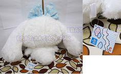 Sanrio Japan Cinnamoroll Plush Nuovo Peluche XXL Ribbon Fuluffy Limited White | eBay