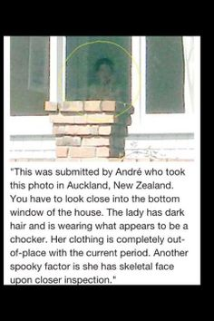 Ghost in the Window | via Facebook