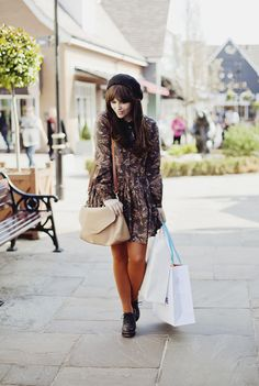 Shades. Dress + pants + hat + bag + shoes all in brown colors. From WishWishWish. #outfit #brown #brun