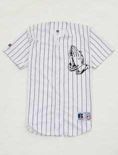 6 God baseball jersey shirt Lit Outfits, Dope Outfits, Fashion Outfits, Jersey Outfit, Jersey Shirt, Street Outfit, Street Wear, Swag Style, My Style