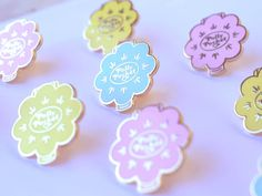 Lapel Pin Shell Polly Pocket Toy  **Only Yellow available. Teal & Peach are SOLD OUT**  Youve had Polly in your Pocket, and now you can have her on your shirt! This pin features one of the most popular Polly Pocket cases and is a must for kids of the 90s as well as makers,