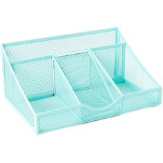 Merangue Green Mesh Desk Organizer ($7.99) ❤ liked on Polyvore featuring home, home decor, office accessories, green pens, mesh desktop organizer, mesh desk organizer, mesh desk organizers and desktop file organizer