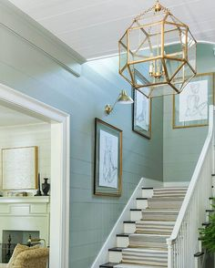 The Washington Post shared a sneak peek today of The Southern Living Idea House we just finished. Here's a shot of the foyer designed by @ashleyfgilbreath @mtlaurel