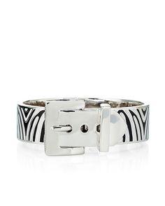Juicy Couture | Wide Zebra Buckle