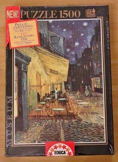 Educa Puzzle 1500 Teile Vincent van Gogh Cafeterasse am Abend NEU & OVP