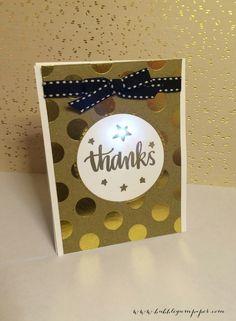 "chibitrionics light up ""Thank You"" Card DIY LED paper circuit Led Light Stick, Light Up Box, Volunteer Gifts, Led Diy, Veterans Day, Science For Kids, Art Fair, Bubble Gum, Diy Cards"