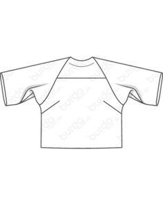 042015 Bequeme Sailorhose mit einseitig gelegten