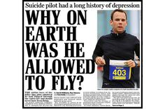 Cobertura da mídia sobre caso Germanwings é criticada por instituiçoes de saúde mental